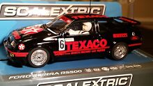 scalextric slot car 1 32 ford sierra rs500