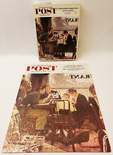 norman rockwell puzzle saying grace saturday evening post