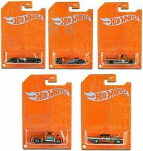 hot wheels 2021 53rd anniversary orange blue