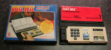 denys fisher quiz wiz coleco boxed complete new