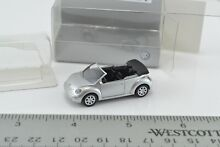 wiking new beetle convertible silver car 1