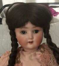 bisque doll german s h 1909 bisque headed doll