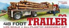 model trucks moebius forty eight foot flatbed