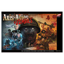 axis allies board game axis allies zombies war game by