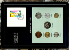 chad valley coin sets all nations chad 1976