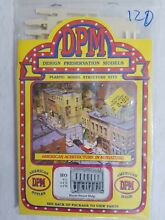 dpm 120 ho scale front street building