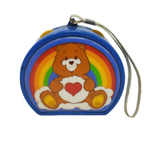 care bears 1983 playtime products blue radio