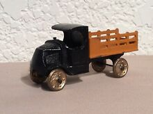 tootsietoy 1930 s stake bed truck w c cab gold