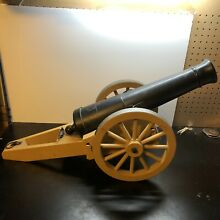 remco 60s johnny reb rebel cannon toy by