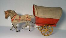 gibbs toy no 31 covered cuban cart gypsy