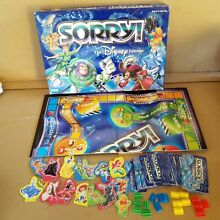 board game sorry disney edition parker