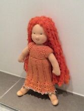 waldorf new kathe kruse 10 red haired doll