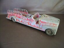 hubley kiddie toy 520 fire truck for parts