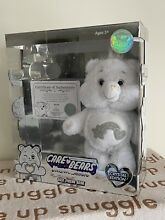 care bears new boxed white plush soft cuddly