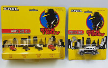 dick tracy micro size set four vehicles 1 64