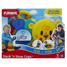 playskool new hasbro stack n stow cups infant