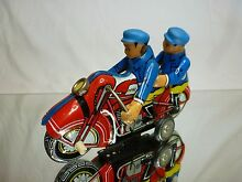 motorcycle tin toy blech friction china mf162