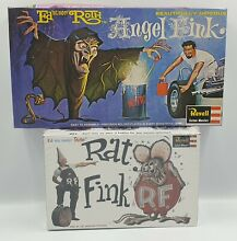 rat fink ed roth model kit made by revell in
