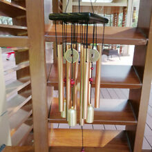 noisemaker balcony wind chimes gold hanging