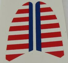 hubley replacement water slide decal for