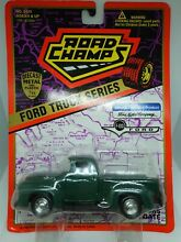 road champs ford f100 truck series 1 43 diecast