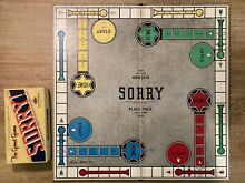 sorry game sorry game board parker brothers