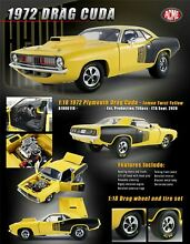 acme new 1 18 scale 1972 plymouth drag