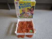 wee little piggies mb games spare pig pen fully