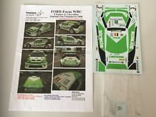 structo decal new 1 24 rally ford focus wrc