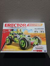 meccano steam engine erector disco by meccano pull back