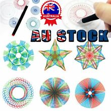 spirograph 27 piece original design set tin