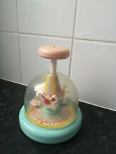 merry go round tomy push n toy bell baby toddler
