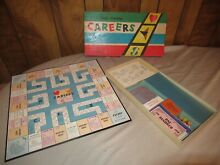 monopoly the game careers 1950 s uk edition