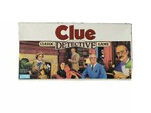 board game clue parker brothers classic game
