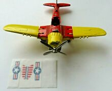 hubley 495 folding wing airplane 1940s