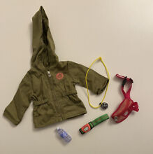 american girl doll hiking accessories retired