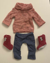 american girl doll cozy sweater outfit rare retired
