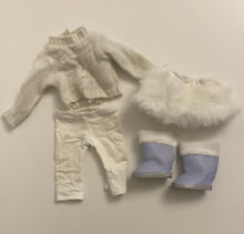 american girl doll retired soft as snow outfit