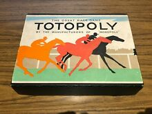 waddingtons totopoly horse racing game monopoly