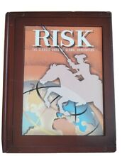 risk game collection book shelf