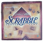 scrabble game deluxe edition rotating board