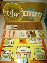 board game parker brothers collectable clue
