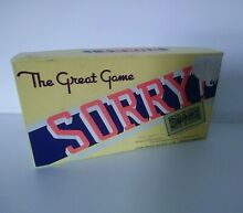 sorry game sorry great game travel style 1950