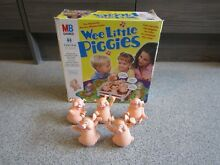 wee little piggies mb games spare pigs full set free p