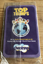 touring game cheestrings top trumps sealed