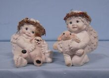 dreamsicles figurine signed sculpture 2 kids