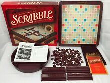 scrabble 2001 deluxe edition turntable