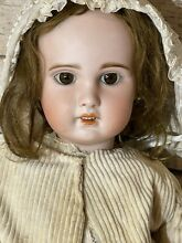 sfbj doll size 9 bisque head open mouth