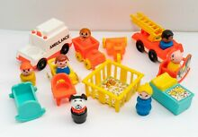 little people fisher price play family figures