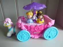 little people fisher price musical carriage